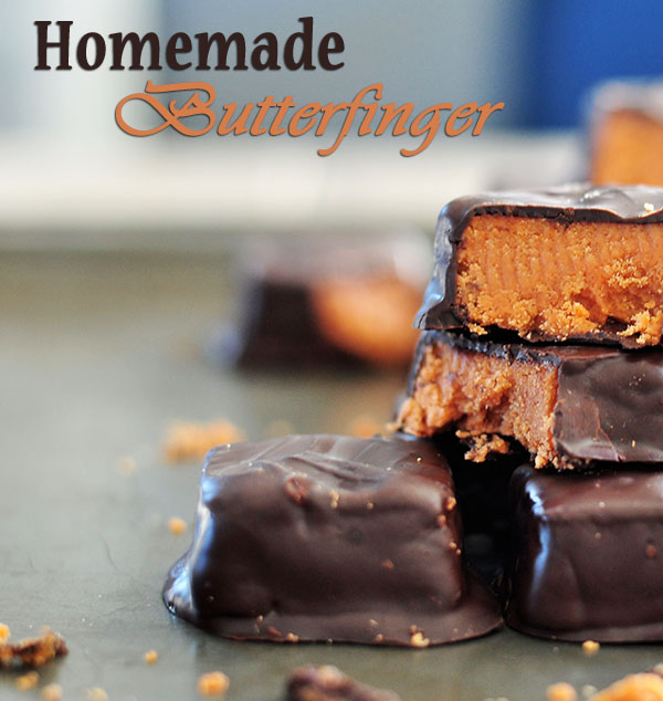 Homemade Butterfinger
