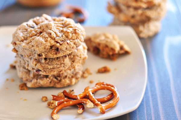 Pretzel Bacon Peanut Butter Cookies