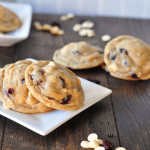 Soft & Chewy Cherry Almond White Chocolate Cookies