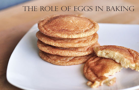 role of eggs in bakng